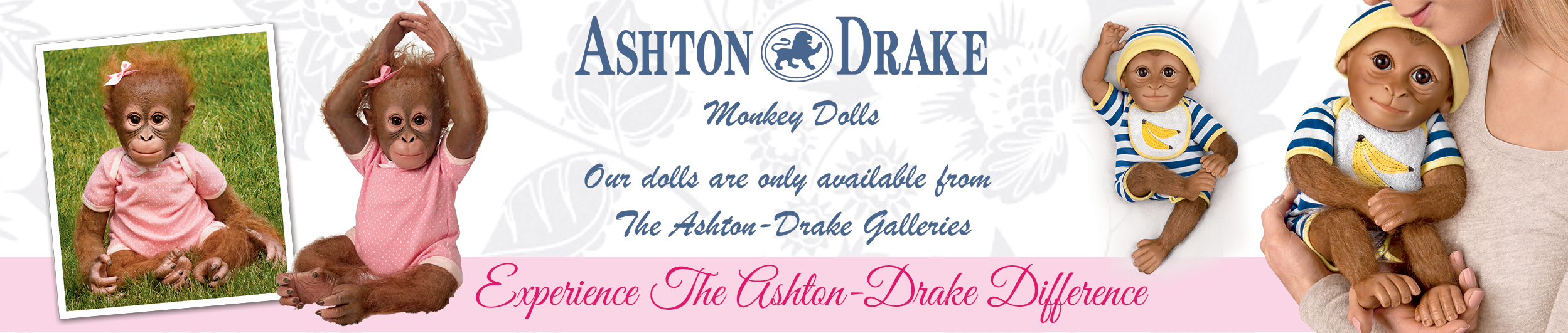 Ashton-Drake Monkey Dolls