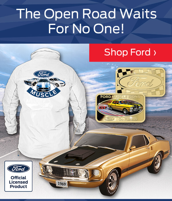 The Open Road Waits For No One! Shop Ford And Go Further